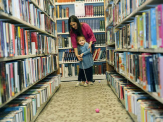 Mini golf event raises funds for Osterhout Free Library