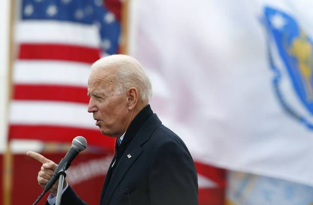 Ex-Vice President Joe Biden launches 2020 White House bid