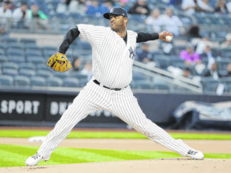 Sabathia gets 1st win of season
