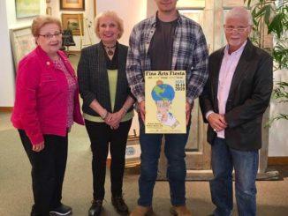 Alex Boris named winner of Fine Arts Fiesta Poster Contest