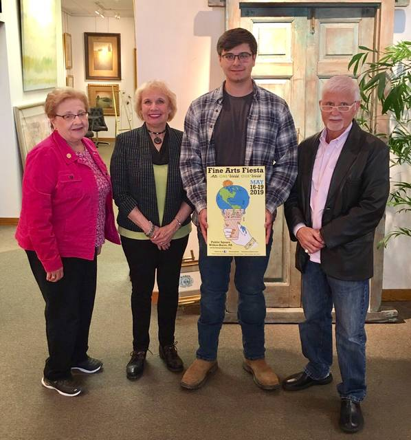 Alex Boris Named Winner Of Fine Arts Fiesta Poster Contest Times Leader