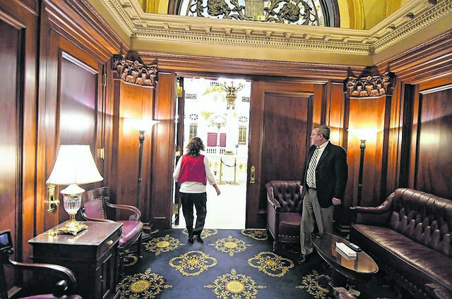 Our View: Lobbyists getting boot from special Pa. House room was long overdue