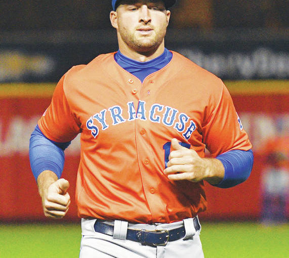 Tebow, Mets come to town in rainout at PNC Field