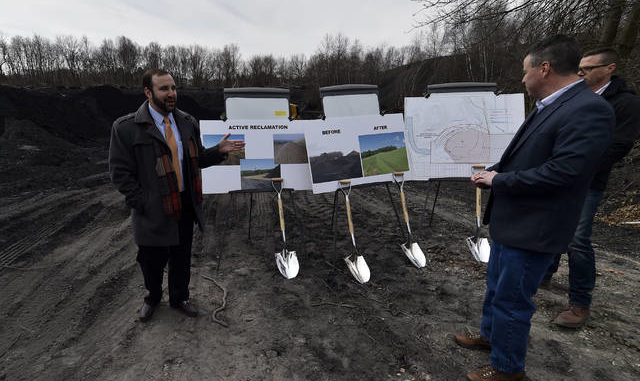 Mine reclamation project begins in Swoyersville | Times Leader