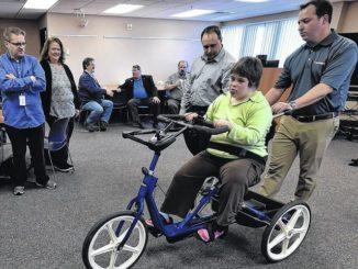 Three-wheeling to a dream come true
