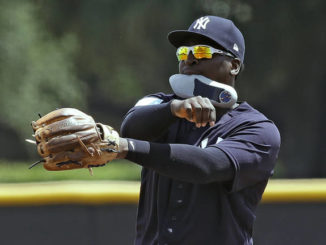 Yanks' Gregorius plays for 1st time since Tommy John surgery