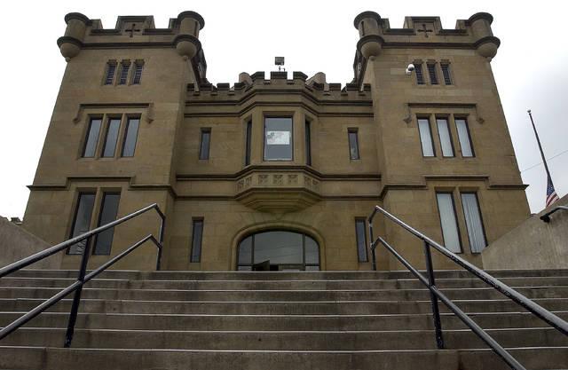 Luzerne County Prison, Water Street, Wilkes Barre.