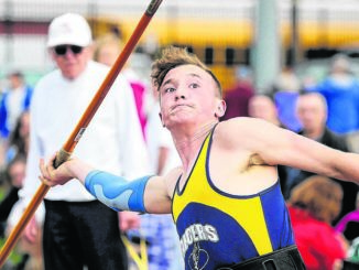 Northwest's Saxe on point for state javelin competition