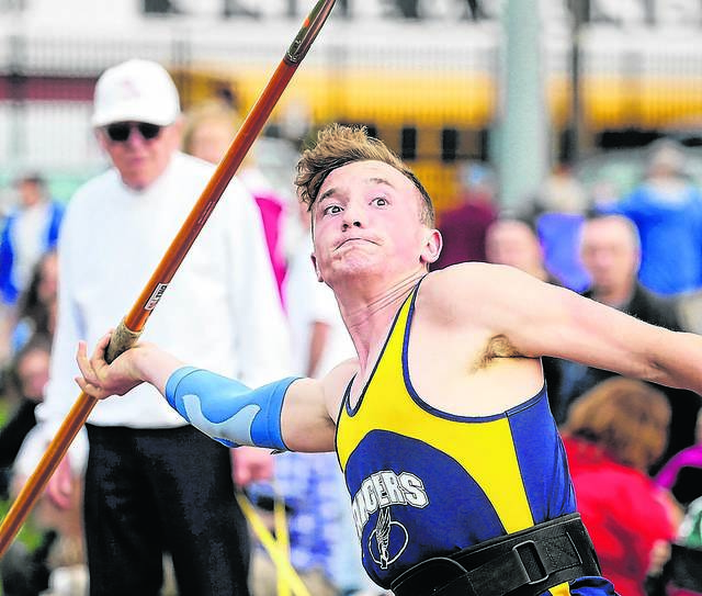 northwest s saxe on point for state javelin competition times leader state javelin competition