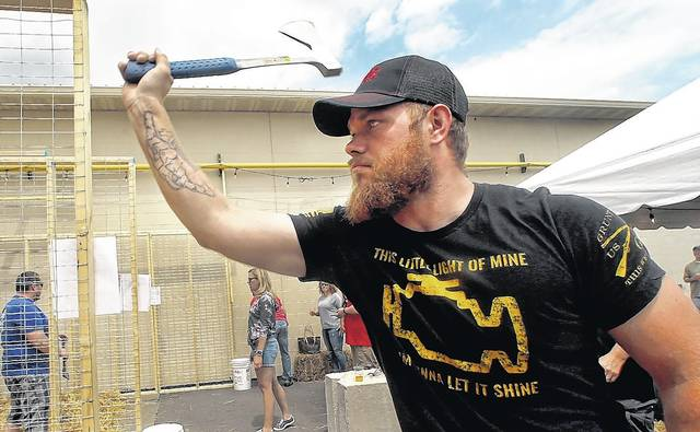 Entrepreneur looks to make ax throwing region's next big thing