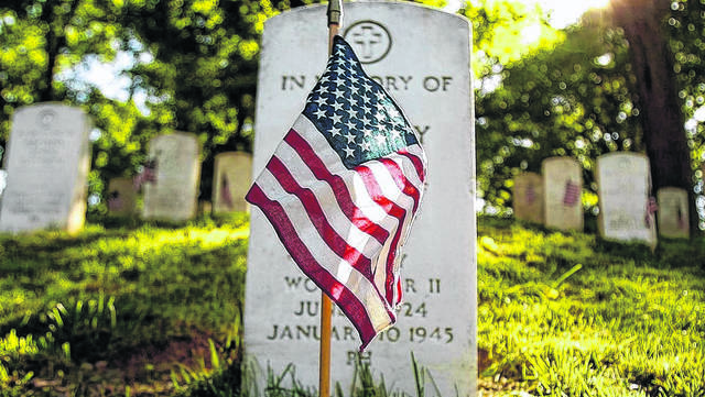 Memorial Day events schedule for Monday, May 27