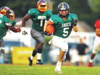 H.S. Football: Miners roll past Pioneers in annual UNICO All-Star Football Classic