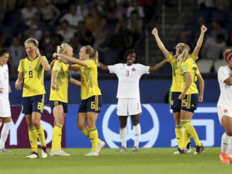 Women's World Cup: Sweden through to quarterfinals with 1-0 win over Canada