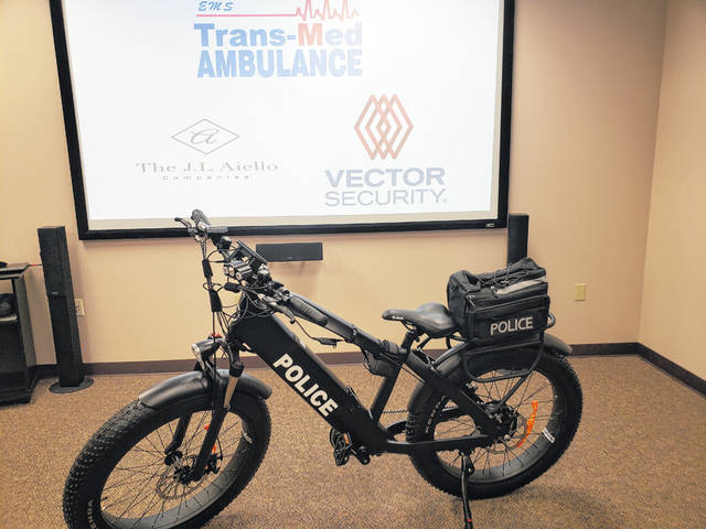 Companies donate e-bike to Luzerne police after Back Mountain Trail booby trap