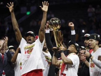Raptors hold off Warriors in final seconds to claim first NBA championship