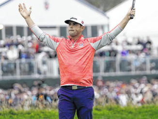 Woodland denies history with US Open title at Pebble Beach