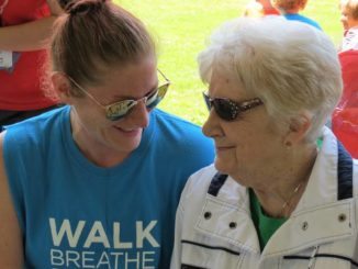 A mission of hope: Lung cancer fundraiser draws runners, walkers to Kirby Park