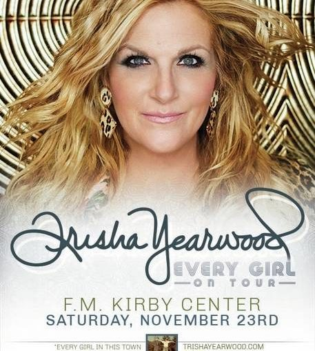 Country star Trisha Yearwood to play F.M. Kirby Center Nov. 23