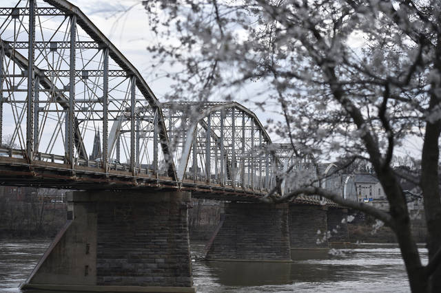 A study of West Pittston flood control options will look at both sides of the Susquehanna River from the Eighth Street Bridge all the way up to the Luzerne/Wyoming County line, including the Lackawanna River. Times Leader file photo