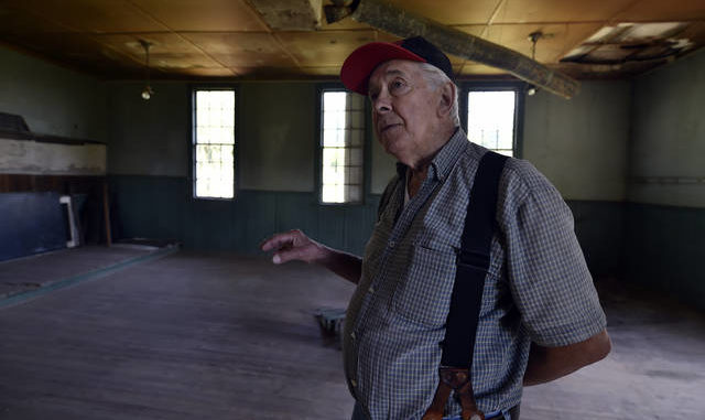 Restoration begins on one of Luzerne County's last one-room