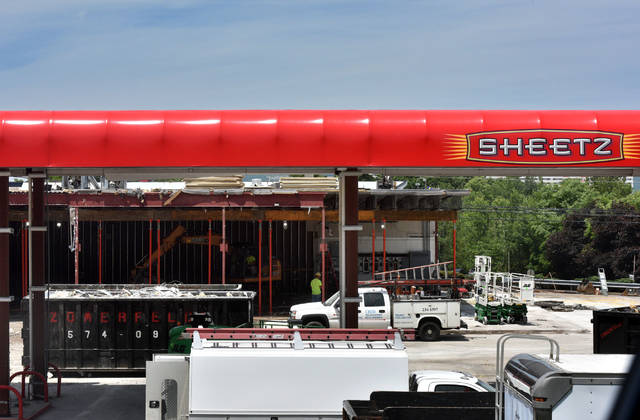 The Plains Township Sheetz is being torn down and rebuilt. Aimee Dilger|Times Leader