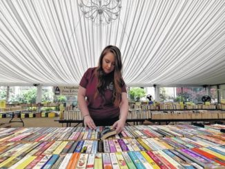 Osterhout kicks off annual book sale