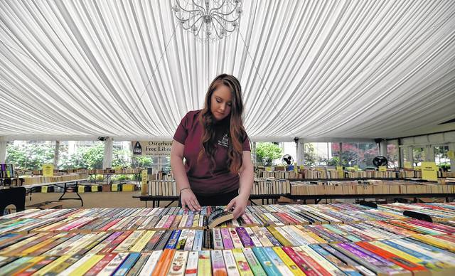 Osterhout kicks off annual book sale