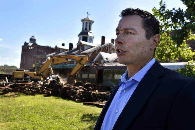 Luzerne County Redevelopment Authority will collect interest payments on former train station property