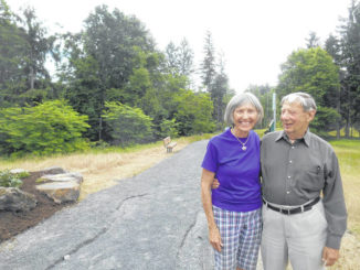 Judith and David Rimple Loop newest addition to Back Mountain Trail