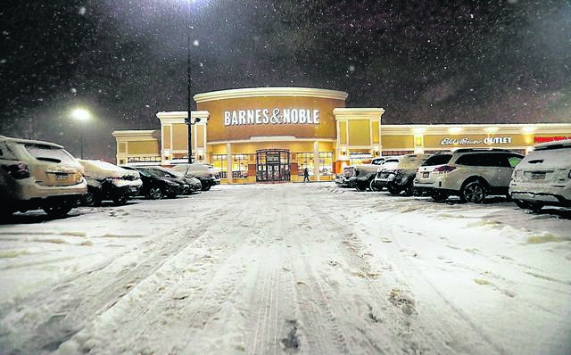 The renovated Barnes & Noble store in the Arena Hub Plaza is seen on the night of its re-opening in January. Times Leader File Photo
