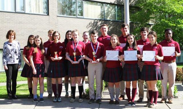 Holy Redeemer French Students Excel In National Contest Times Leader