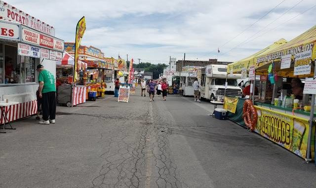 Vendors say first day of Pierogi Festival a successful one