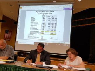 Wyoming Area budget raises taxes to the max