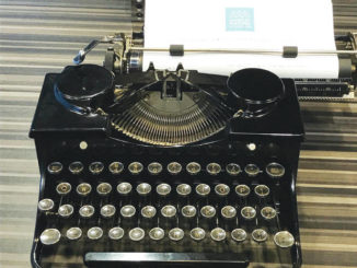 Clickety clack, let's look back: Typewriters return