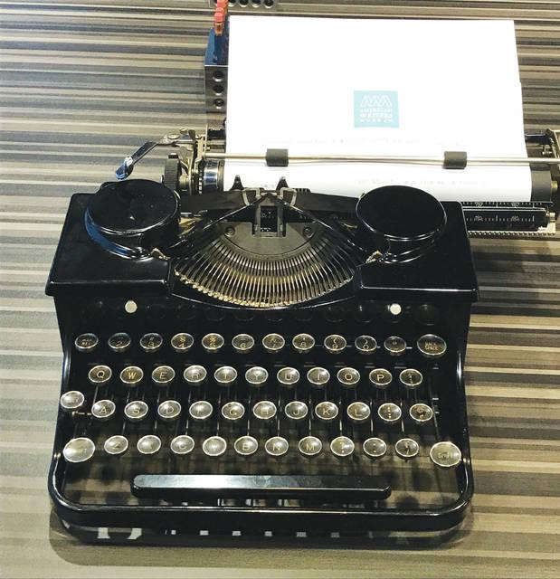 Hand-held Typewriter Industrial Grade Hand Tool Pneumatic Lettering Pen