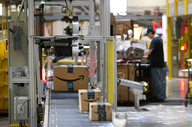 6c5e8209c1f21 Amazon, seeking more skilled workers, will do the training | Times ...