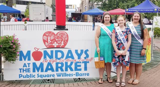 Luzerne County Dairy Court visits Mondays at the Market