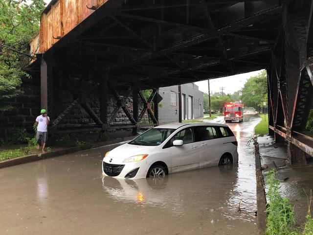Flash-flooding causes headaches around Wilkes-Barre