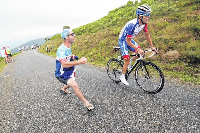 Pinot strikes again in Pyrenees; Alaphilippe stalls