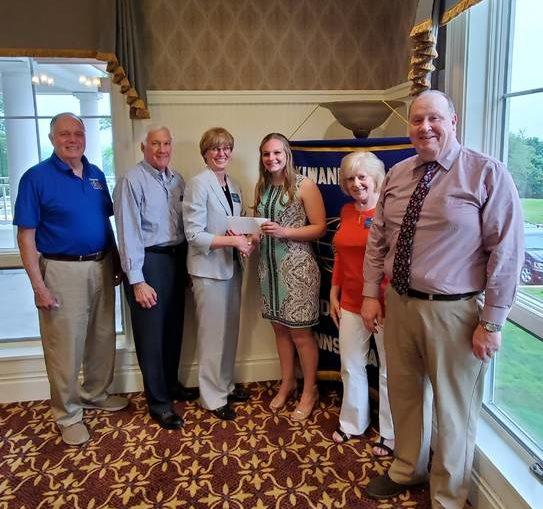 Emily Burgit from Lake-Lehman receives Key Club Scholarship