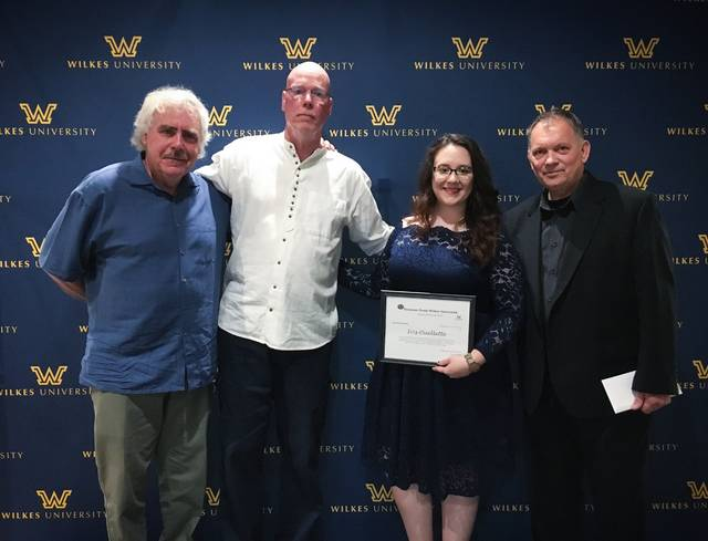 Iris Ouellette, of Pittston, awarded Etruscan Prize at Wilkes University