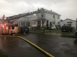 Firefighters extinguish house fire in Hanover Twp.