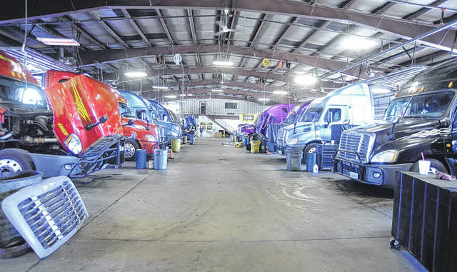 Prime Inc Dispatches 1 000 Trucks Out Of Pittston Terminal