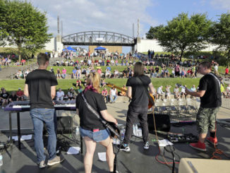 Medical help will be available for overheated Friday night concert attendees