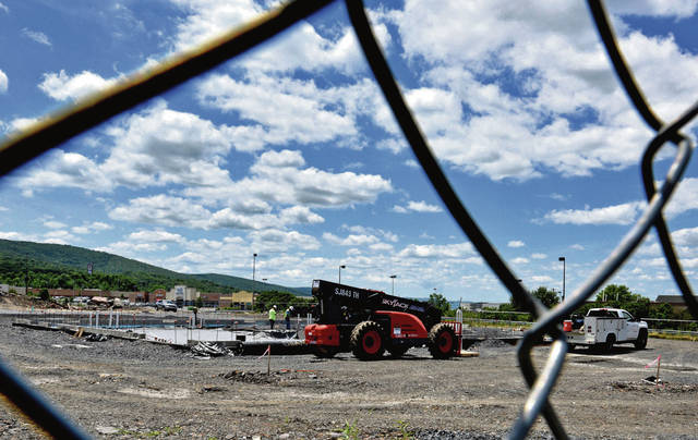 Work progressing on Mission BBQ site in Wilkes-Barre Township