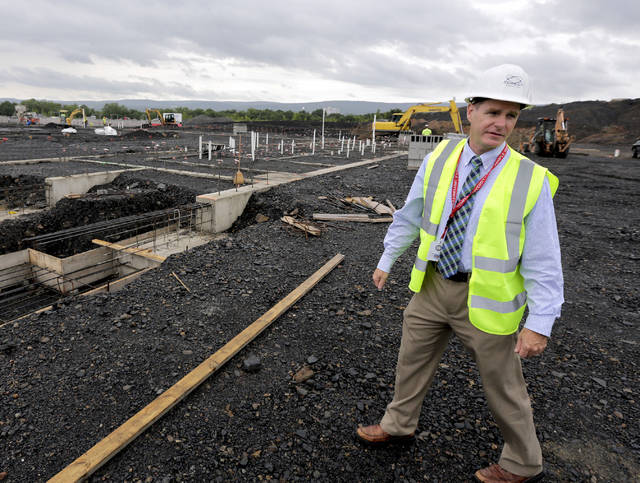 Walls begin to rise for new W-B Area high school