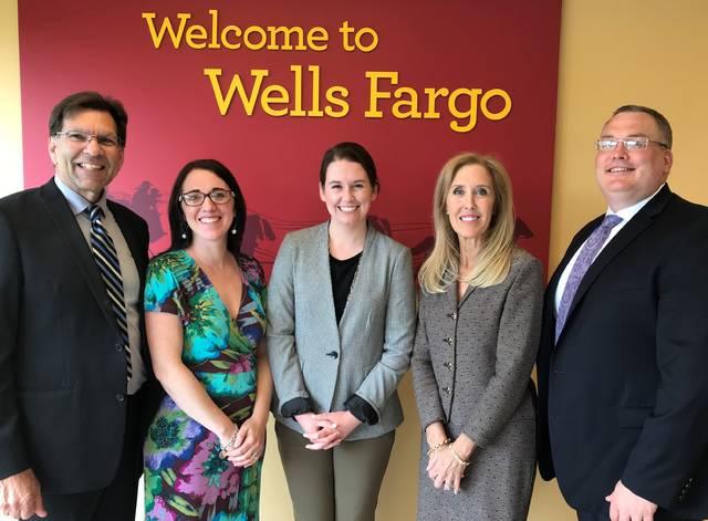 Wells Fargo Foundation Donates To Wyoming Valley Children S Association Times Leader
