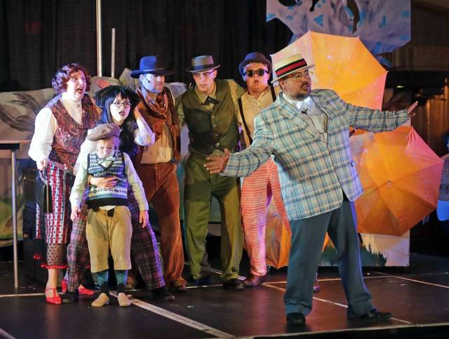 Sensory-friendly 'James and the Giant Peach' continues today, Sunday