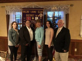 Dallas Lions Club holds installation of officers