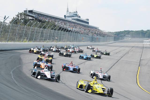 Power wins shortened race at Pocono